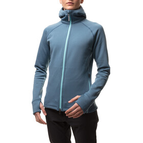 Houdini W's Power Houdi Jacket tumbeling blue